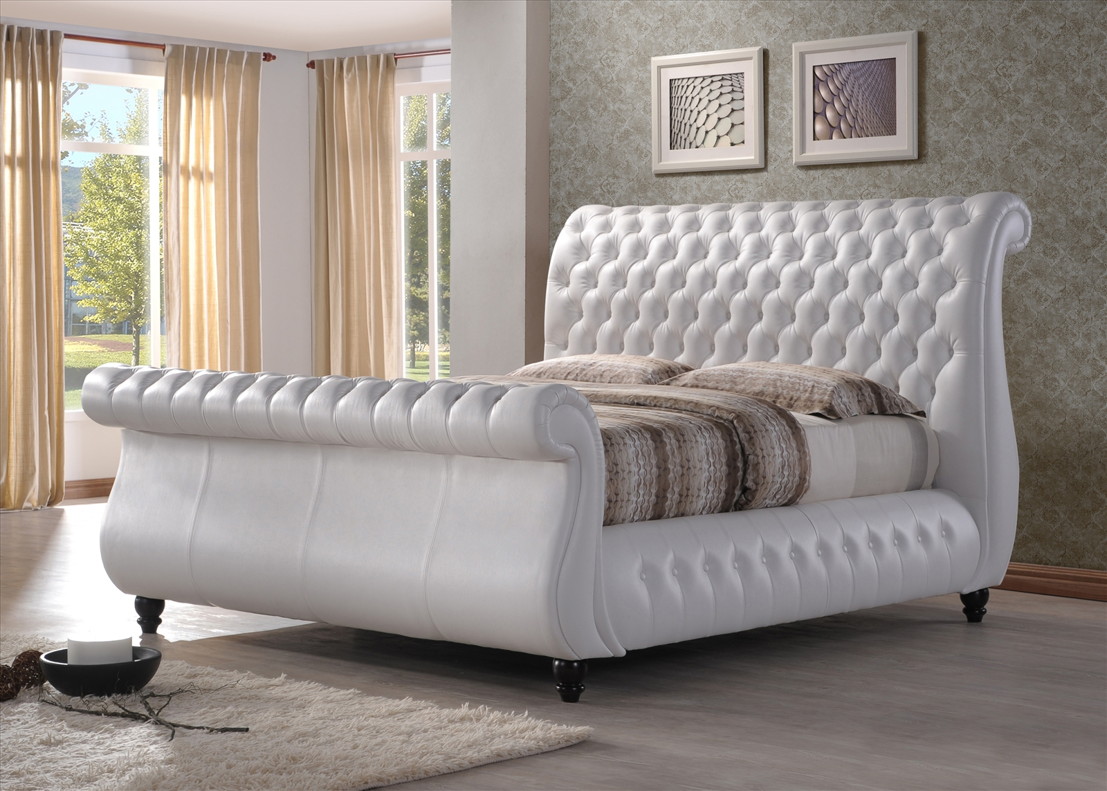 Swan Bed Frame Choice Furniture And Carpets