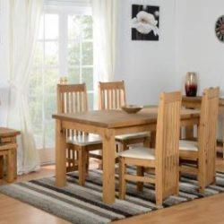 Choice Carpet & Furnishings, Tortilla Dining Set in cream