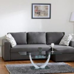 Choice Carpet & Furnishings, Dora Corner Sofa in grey