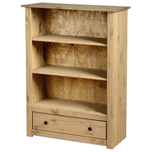 Panama 1 Drawer Bookcase