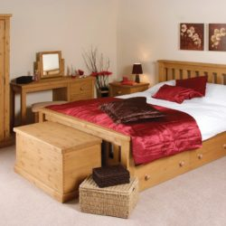 Chunky Solid Pine Bedroom