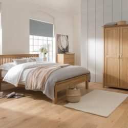 Modern Oak Bedroom